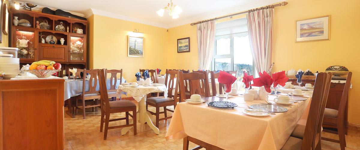 Dining Room - Breakfast Menu